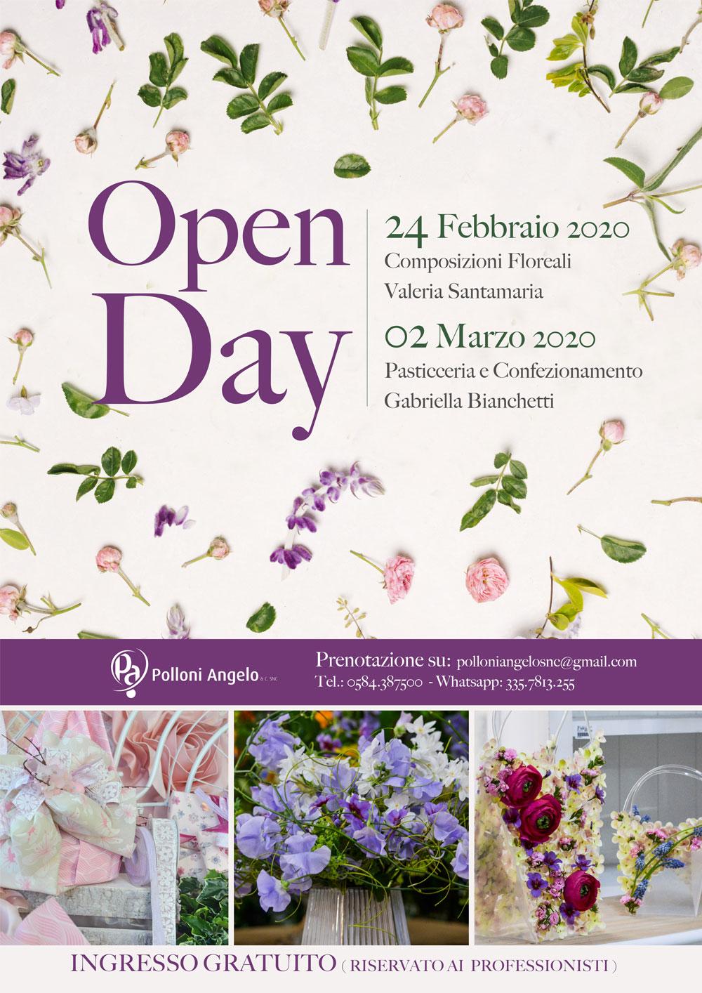 Open Day 24 febbraio e 2 marzo