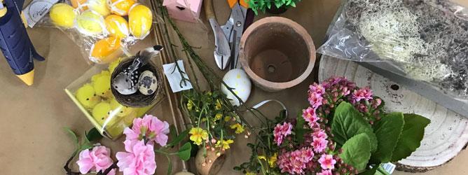 TUTORIAL: un centro tavolo per la Pasqua in 6 minuti
