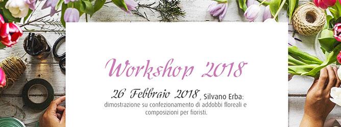 26 febbraio 2018 Silvano Erba in: confezionamento di addobbi