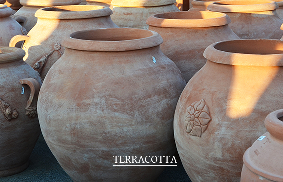 Vasi in terracotta 2020