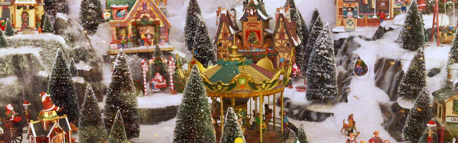 Villaggio Natale.Vendita Villaggi Di Natale Lemax